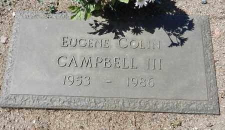 CAMPBELL, EUGENE COLIN - Yavapai County, Arizona   EUGENE COLIN CAMPBELL - Arizona Gravestone Photos