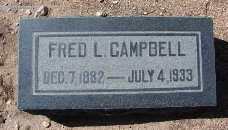 CAMPBELL, FRED LEE - Yavapai County, Arizona | FRED LEE CAMPBELL - Arizona Gravestone Photos