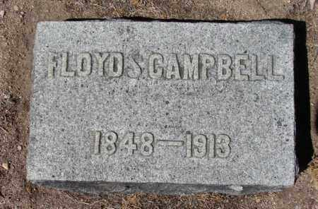 CAMPBELL, FLOYD S. - Yavapai County, Arizona | FLOYD S. CAMPBELL - Arizona Gravestone Photos
