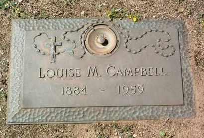 CAMPBELL, LOUISE M. - Yavapai County, Arizona | LOUISE M. CAMPBELL - Arizona Gravestone Photos