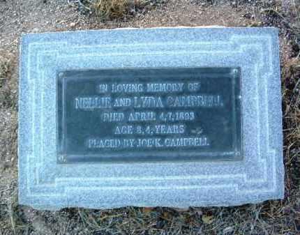 CAMPBELL, NELLIE - Yavapai County, Arizona | NELLIE CAMPBELL - Arizona Gravestone Photos