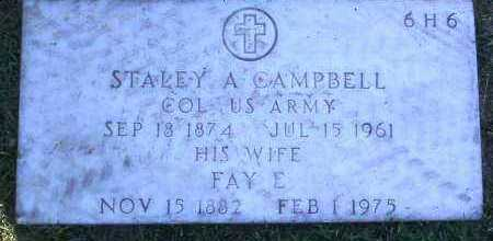 CAMPBELL, FAY E. - Yavapai County, Arizona | FAY E. CAMPBELL - Arizona Gravestone Photos