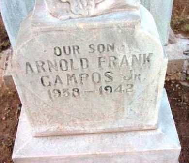 CAMPOS, ARNOLD FRANK, JR. - Yavapai County, Arizona | ARNOLD FRANK, JR. CAMPOS - Arizona Gravestone Photos