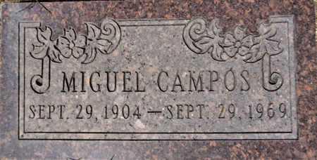 CAMPOS, MIGUEL - Yavapai County, Arizona | MIGUEL CAMPOS - Arizona Gravestone Photos