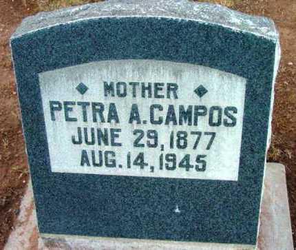 ALONZO CAMPOS, PETRA A. - Yavapai County, Arizona | PETRA A. ALONZO CAMPOS - Arizona Gravestone Photos