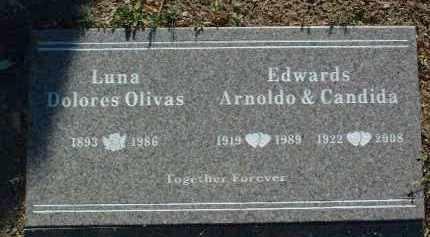 EDWARDS, CANDIDA - Yavapai County, Arizona   CANDIDA EDWARDS - Arizona Gravestone Photos