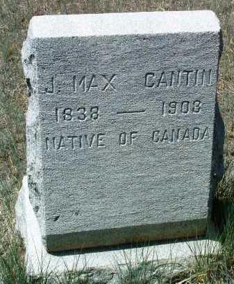 CANTIN, JEAN MAXIMILLIAN - Yavapai County, Arizona | JEAN MAXIMILLIAN CANTIN - Arizona Gravestone Photos