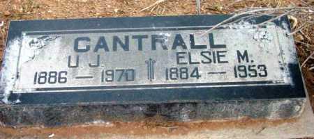 CANTRALL, ULA JOSHUA - Yavapai County, Arizona | ULA JOSHUA CANTRALL - Arizona Gravestone Photos