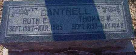 CANTRELL, THOMAS W. - Yavapai County, Arizona | THOMAS W. CANTRELL - Arizona Gravestone Photos