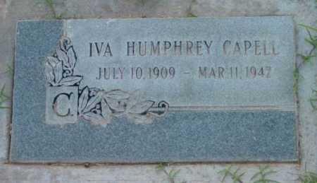 CAPELL, IVA M. - Yavapai County, Arizona | IVA M. CAPELL - Arizona Gravestone Photos