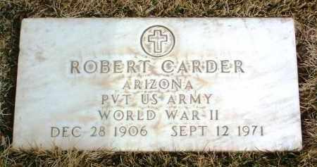 CARDER, ROBERT - Yavapai County, Arizona   ROBERT CARDER - Arizona Gravestone Photos