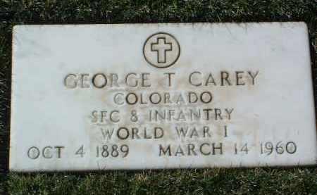 CAREY, GEORGE THOMAS - Yavapai County, Arizona   GEORGE THOMAS CAREY - Arizona Gravestone Photos