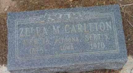 CARLETON, ZELLA M. - Yavapai County, Arizona | ZELLA M. CARLETON - Arizona Gravestone Photos