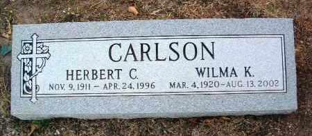 CARLSON, HERBERT C. - Yavapai County, Arizona   HERBERT C. CARLSON - Arizona Gravestone Photos