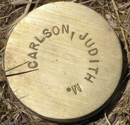 CARLSON, JUDITH M. - Yavapai County, Arizona   JUDITH M. CARLSON - Arizona Gravestone Photos
