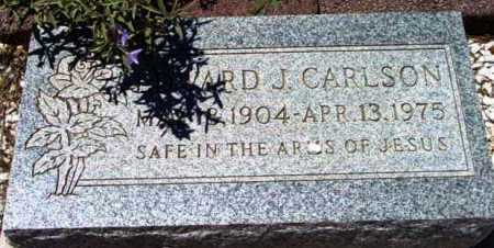 CARLSON, EDWARD J. - Yavapai County, Arizona | EDWARD J. CARLSON - Arizona Gravestone Photos