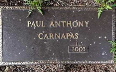 CARNAPAS, PAUL A., SR. - Yavapai County, Arizona | PAUL A., SR. CARNAPAS - Arizona Gravestone Photos