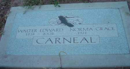 CARNEAL, WALTER EDWARD - Yavapai County, Arizona | WALTER EDWARD CARNEAL - Arizona Gravestone Photos