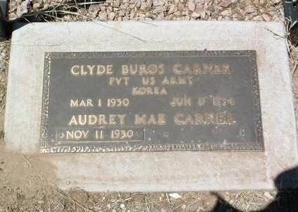 CARNER, CLYDE BUROS - Yavapai County, Arizona | CLYDE BUROS CARNER - Arizona Gravestone Photos