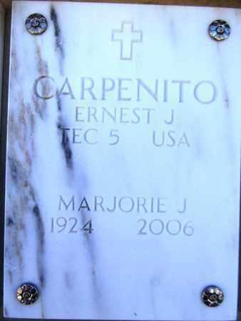 CARPENITO, ERNEST J. - Yavapai County, Arizona | ERNEST J. CARPENITO - Arizona Gravestone Photos