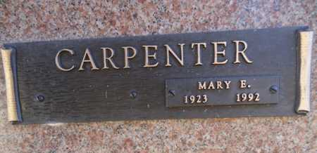 CARPENTER, MARY ENICE - Yavapai County, Arizona | MARY ENICE CARPENTER - Arizona Gravestone Photos