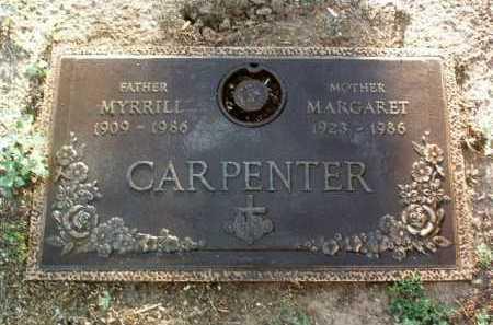 CARPENTER, MARGARET F. - Yavapai County, Arizona | MARGARET F. CARPENTER - Arizona Gravestone Photos