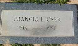 CARR, FRANCIS L. - Yavapai County, Arizona | FRANCIS L. CARR - Arizona Gravestone Photos