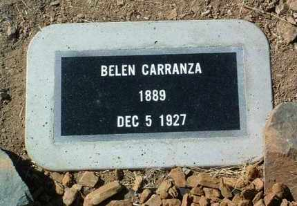 VALENCIA CARRANZA, B. - Yavapai County, Arizona | B. VALENCIA CARRANZA - Arizona Gravestone Photos