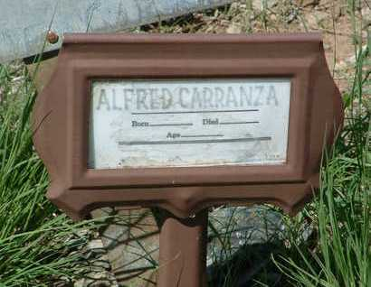 CARRANZA, ALFRED - Yavapai County, Arizona | ALFRED CARRANZA - Arizona Gravestone Photos