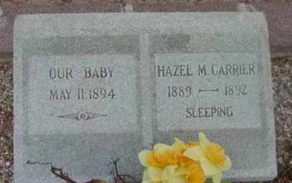 CARRIER, BABY - Yavapai County, Arizona | BABY CARRIER - Arizona Gravestone Photos