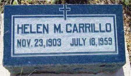 CARRILLO, HELEN M. - Yavapai County, Arizona   HELEN M. CARRILLO - Arizona Gravestone Photos