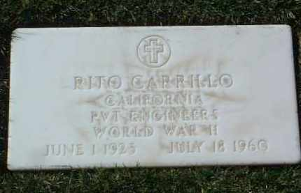 CARRILLO, RITO V. - Yavapai County, Arizona | RITO V. CARRILLO - Arizona Gravestone Photos