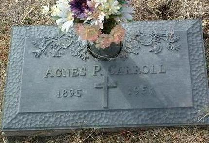 CARROLL, AGNES PAULINE - Yavapai County, Arizona   AGNES PAULINE CARROLL - Arizona Gravestone Photos
