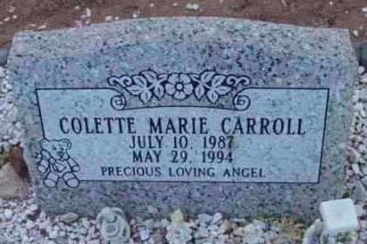CARROLL, COLETTE MARIE - Yavapai County, Arizona | COLETTE MARIE CARROLL - Arizona Gravestone Photos