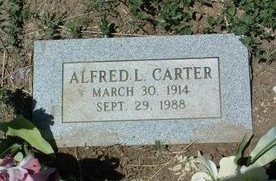 CARTER, ALFRED LARKIN - Yavapai County, Arizona | ALFRED LARKIN CARTER - Arizona Gravestone Photos