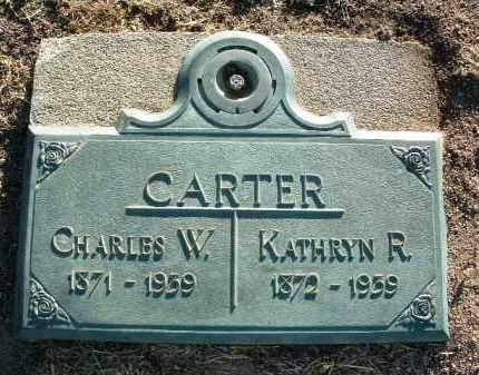 RUDY CARTER, KATHRYN R. - Yavapai County, Arizona | KATHRYN R. RUDY CARTER - Arizona Gravestone Photos