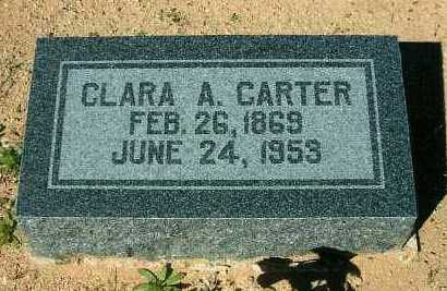PIERCE CARTER, CLARA ANN - Yavapai County, Arizona | CLARA ANN PIERCE CARTER - Arizona Gravestone Photos