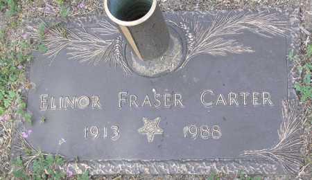 FRASER CARTER, ELINOR - Yavapai County, Arizona | ELINOR FRASER CARTER - Arizona Gravestone Photos