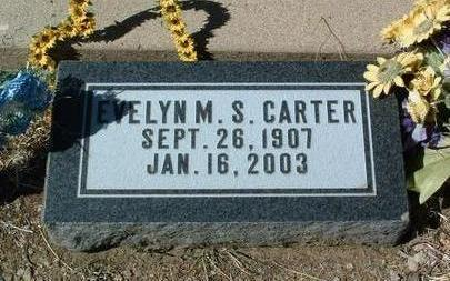 SHARPNACK CARTER, E. M. - Yavapai County, Arizona | E. M. SHARPNACK CARTER - Arizona Gravestone Photos