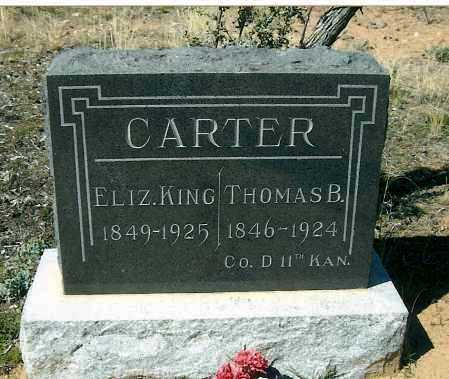 KING CARTER, ELIZA E. - Yavapai County, Arizona | ELIZA E. KING CARTER - Arizona Gravestone Photos