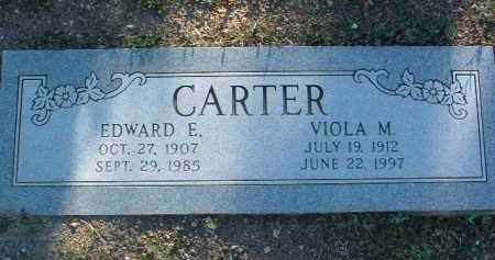 CARTER, EDWARD EVERIT - Yavapai County, Arizona | EDWARD EVERIT CARTER - Arizona Gravestone Photos
