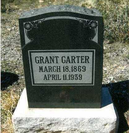 CARTER, GRANT - Yavapai County, Arizona | GRANT CARTER - Arizona Gravestone Photos