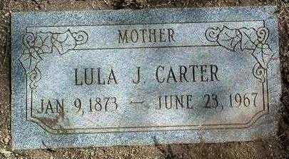 CARTER, LULA JANE - Yavapai County, Arizona | LULA JANE CARTER - Arizona Gravestone Photos