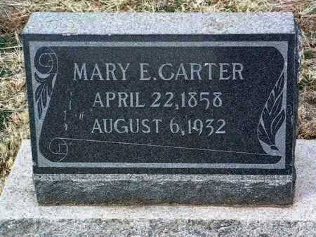 GRAY CARTER, MARY E. - Yavapai County, Arizona | MARY E. GRAY CARTER - Arizona Gravestone Photos