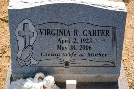 LEE CARTER, VIRGINIA RUTH - Yavapai County, Arizona | VIRGINIA RUTH LEE CARTER - Arizona Gravestone Photos