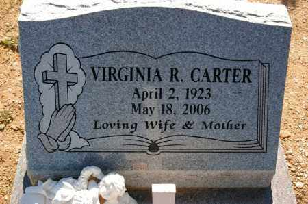 CARTER, VIRGINIA RUTH - Yavapai County, Arizona | VIRGINIA RUTH CARTER - Arizona Gravestone Photos