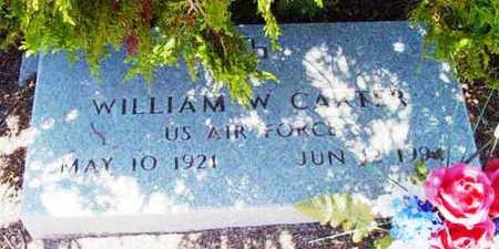 CARTER, WILLIAM W. - Yavapai County, Arizona   WILLIAM W. CARTER - Arizona Gravestone Photos