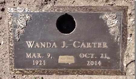 CARTER, WANDA JANE - Yavapai County, Arizona   WANDA JANE CARTER - Arizona Gravestone Photos
