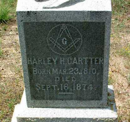 CARTTER, HARLEY HIGH - Yavapai County, Arizona | HARLEY HIGH CARTTER - Arizona Gravestone Photos