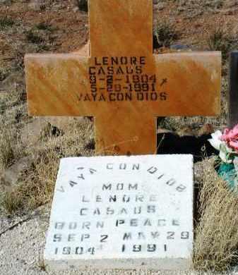 CASAUS, LENORE T. - Yavapai County, Arizona | LENORE T. CASAUS - Arizona Gravestone Photos
